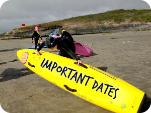Sligo Surf Lifesaving - Important Dates for 2014