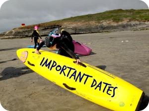 Sligo Surf Lifesaving - Important Dates for 2014