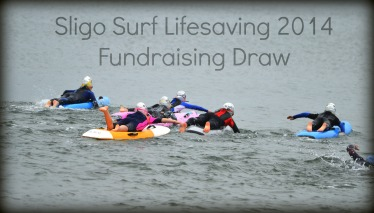 Sligo Water Safety Surf Lifesaving Fundraising draw for 2014