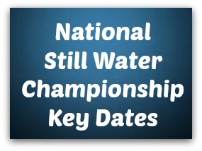 National Still Water Championship Key Dates - Sligo Water Safety Surf Lifsaving