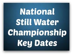 National Still Water Championship Key Dates - Sligo Water Safety Surf Lifsaving