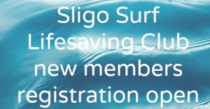 New member registration now open for Sligo Surf Lifesaving Club 2015