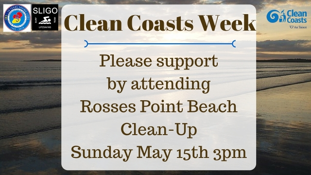 Clean Coasts Week 2016 - Rosses Point Beach Clean-Up