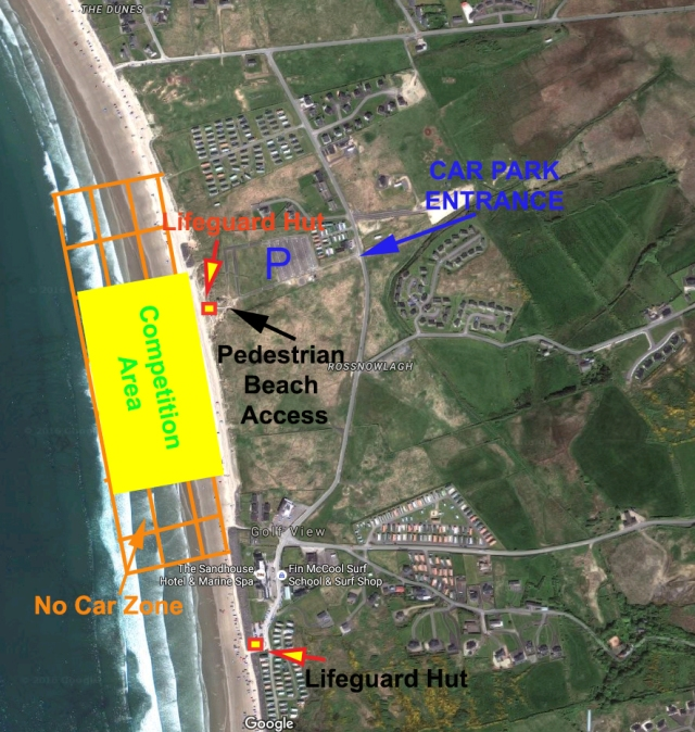 Rossnowlagh Map