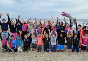 Surf Lifesaving National Nippers Competition