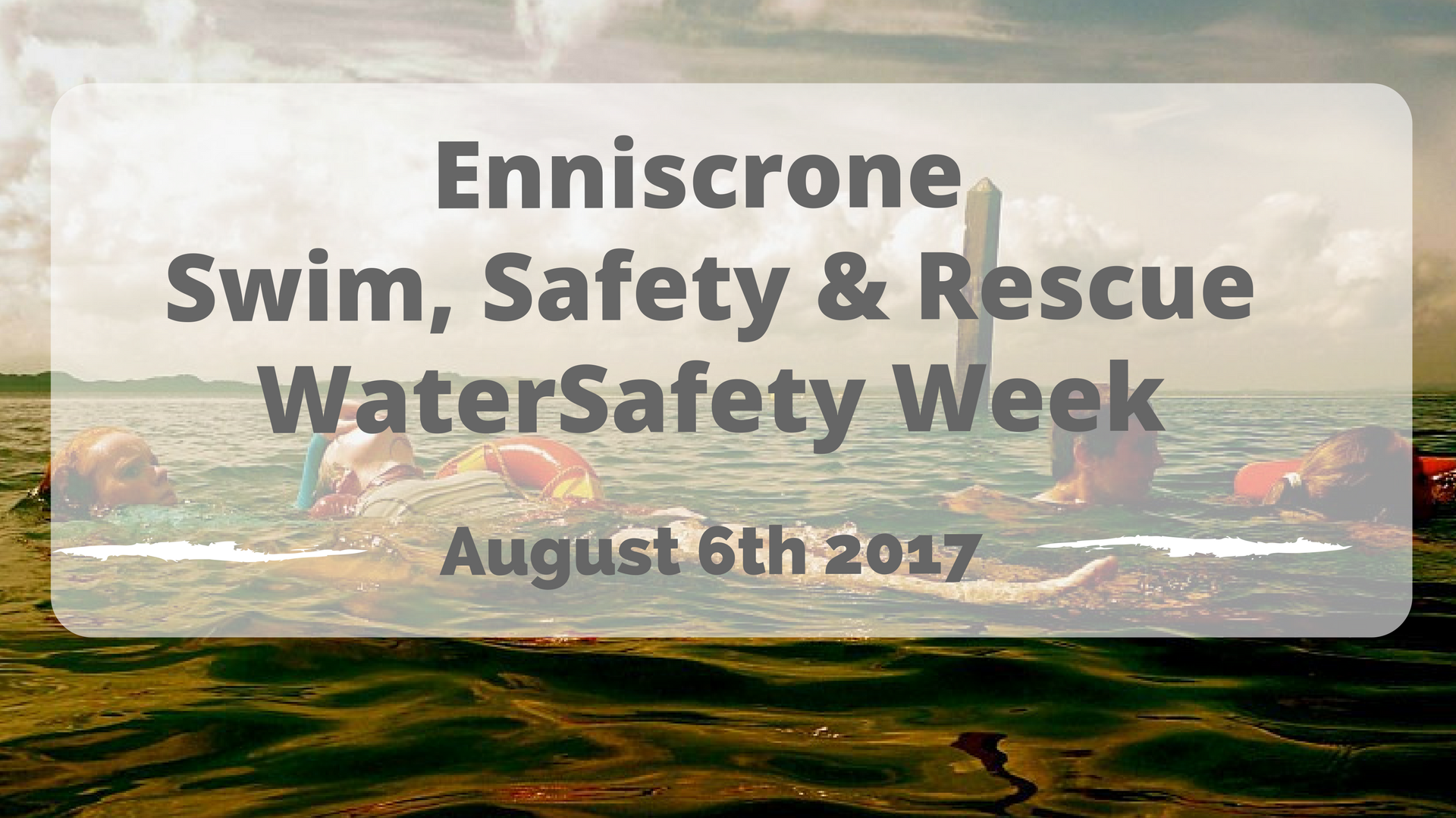 Enniscrone Water Safety Week 2017